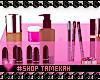Make up Storage Pink