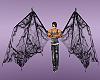 black ghost wings