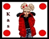 KIDS Red Winter Coat