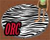 !ORC!Zebra rug