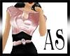 [AS] *Pink & Black Satin