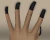 nails black :v