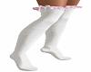 White w Pink Socks