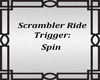 Scrambler Ride Sign