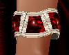 Ruby / Diamond Cuff