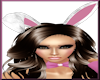 [LM]F Bunny Ears-Wh/Pink