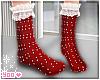 xmas socks lace