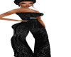 TEF FORMAL V2 BLACK PANT