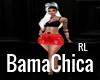 Latex Skirt Red RL
