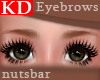 (n) KD light brown brows
