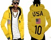 2017 Polo Jacket Yellow