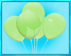 Mens Green Balloons