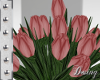 Wed. Old Pink Tulips/D