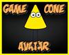Game Cone Avatar Yellow