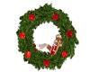 Christmas Pose Wreath