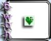 [6] Green heart bling
