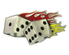 Flame Dice Left