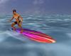 Animated Surf Board