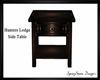 Hunters Lodge End Table