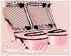 fae pink heels