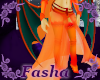 Charizard Layer skirt