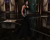 Ashley Black Gown