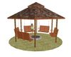 [] Covered Patio Swing