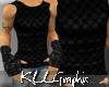 [KLL] Black Asian Vest