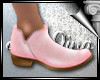 d3✠ Solid Booties Pink