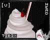 [U] Whipped Cream Hat