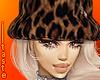 """cheetah"" fur bucket hat"