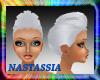 (Nat) Quiff Silver Hair