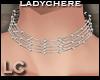 LC Silver Opal Choker