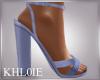K blue spring heels