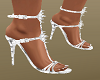 Dainty White Shoes