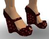 Gothic Flapper Shoes