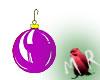 Purple Xmas Ball