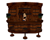 Pirate Barrel Bar