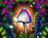 Raver Mushroom Rug #1