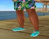 Hawaiian Shoes 9