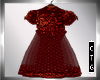 CTG GIRL'S RED ORGANZA