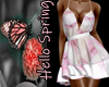 BUTTERFLY FRILLY PINK