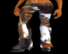 !Rae Cowhide pants