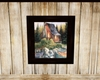 Mountain Cabin Art