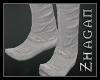 [Z] Hanfu boots silver