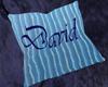David Cuddle Pillow