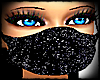 SPARKLY FACE MASK FEMALE