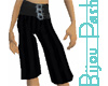 Black Buckle Gauchos