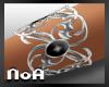 *NoA*Bracelet Silver Blk
