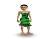 green forest dress